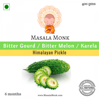 Himalyan Karela pickle or Bittler Gourd Pickle - 400 gms