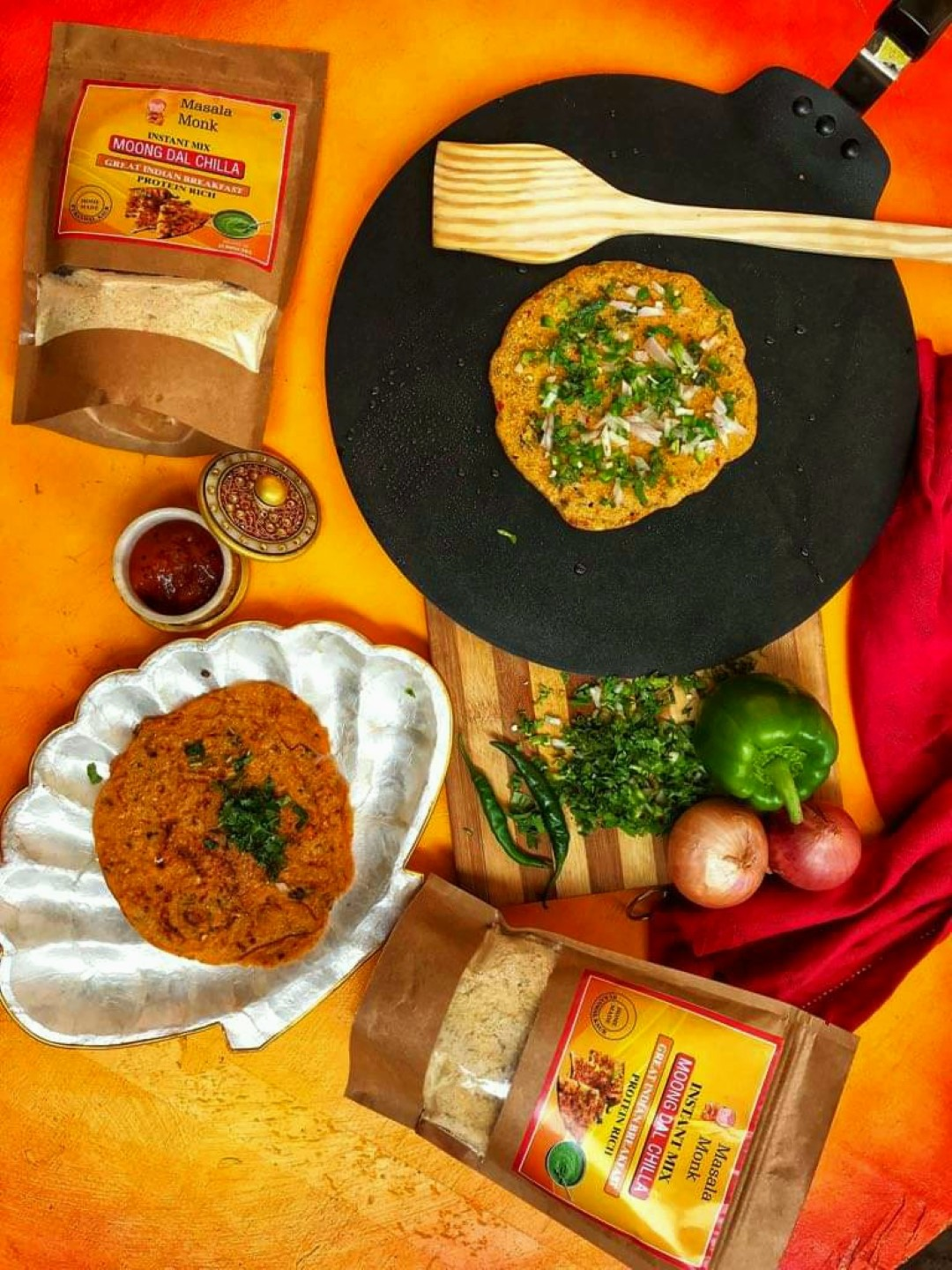 Moong Dal Chilla Instant Mix