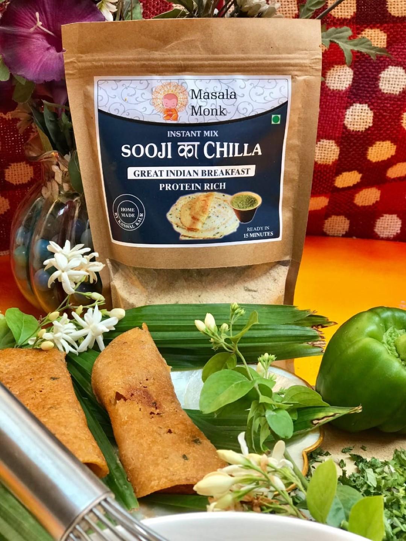 Sooji Chilla by Masala Monk