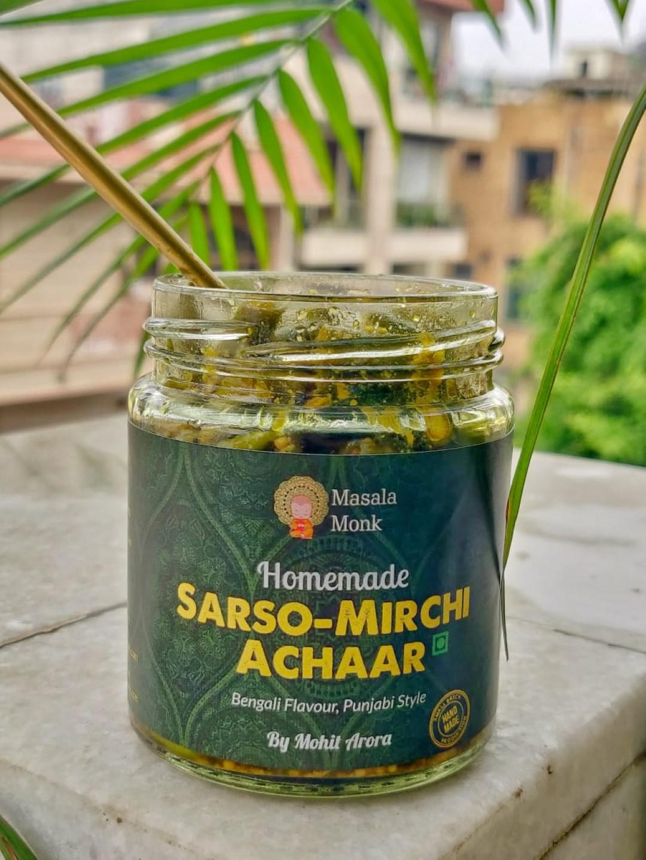 Sarso-Mirchi Achaar by Masala Monk