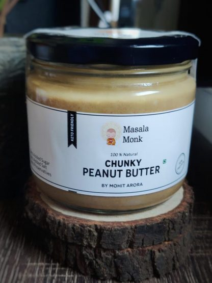 Chunky Peanut Butter by Masala Monk