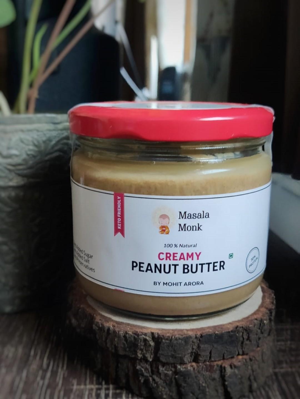 Creamy Peanut Butter by Masala Monk