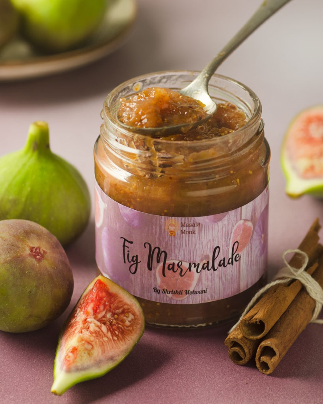 Fig Marmalade by Masala Monk
