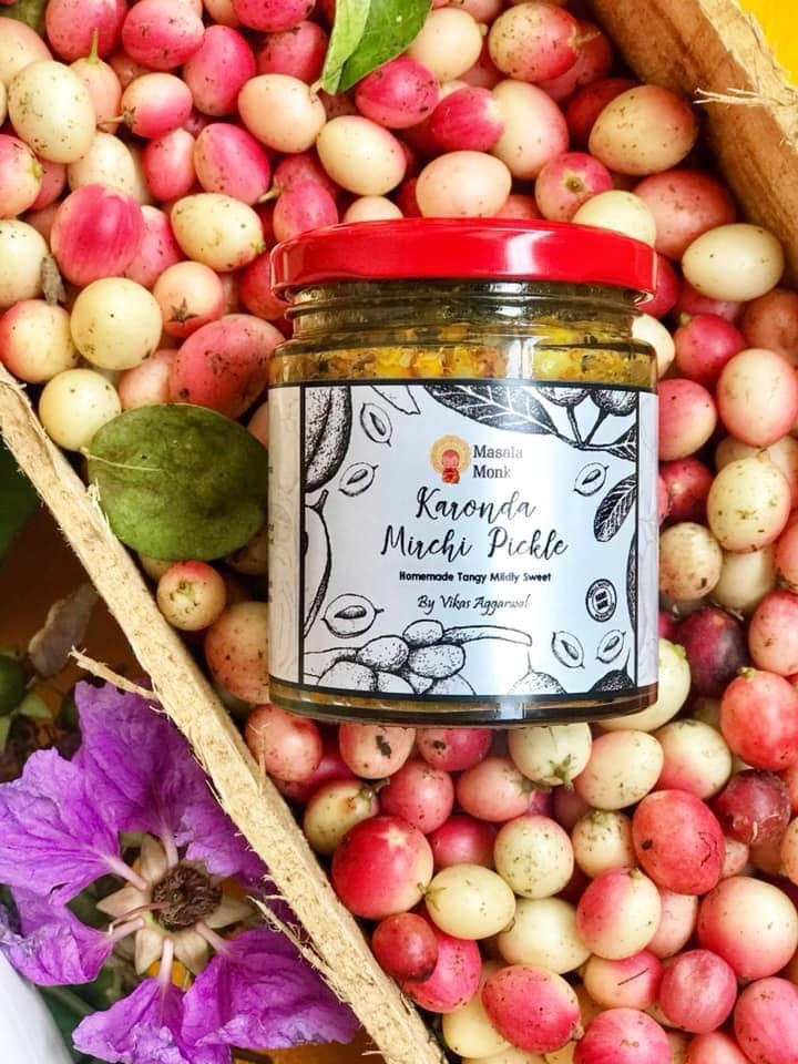 karonda mirchi pickle Homemade Masala Monk
