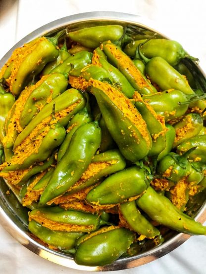 spicy aam pickle masala monk